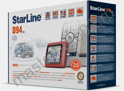 А/с StarLine D94 CAN