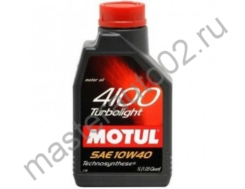 Motul 4100 Turbolight 10W40 1л.