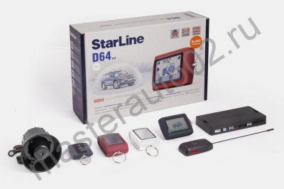 А/с StarLine D64 CAN